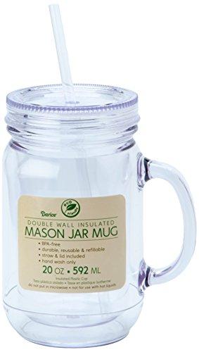 Darice 8601 93 Mason Drinking 20 Ounce
