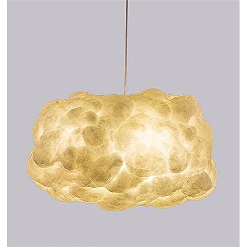 H Plafond En Lustre Suspension Eclairage Coton Tissu De amp;m Luminaires tsdCQhr