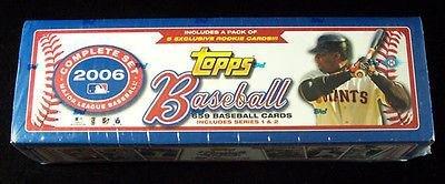 2006 Topps Baseball Factory Hobby Set (664) Bonds Box - MLB Baseball Cards