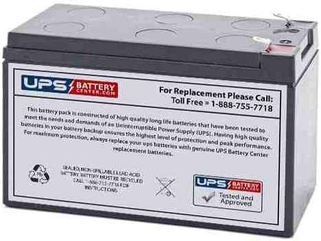 Power King 12V 7ah Replacement Battery with F1 Terminals
