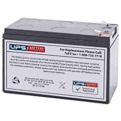 Replacement Battery for CPS525SL 12V 7.2Amph by UPS Battery Center Compatible