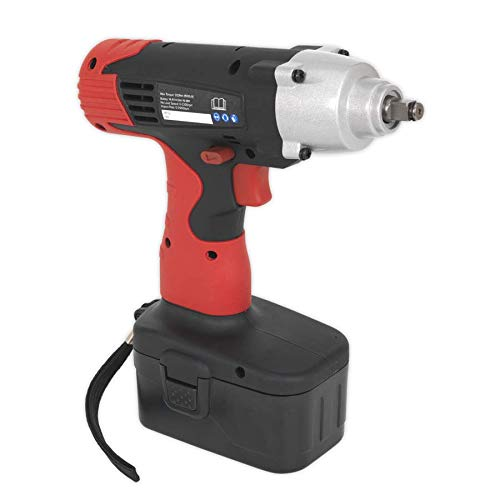 Sealey CP1440MH 14.4V 3//8Sq Drive Cordless Impact Wrench 150lb.ft