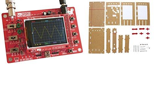 """DSO138 2.4/"""" TFT oscilloscopio digitale con sonda parti smd già saldate 200KHz"""