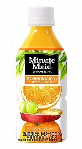 Manufacturer directly (24 SET) Minute Maid orange blend 350ml PET bottles