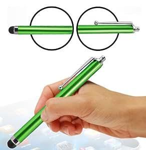 Wayzon alta capacidad de color verde final esponjosa pantalla táctil lápiz capacitivo apto para Acer Liquid Z500/ASUS Memo Pad 7ME572C/ME572CL/10ME103K/PadFone X mini