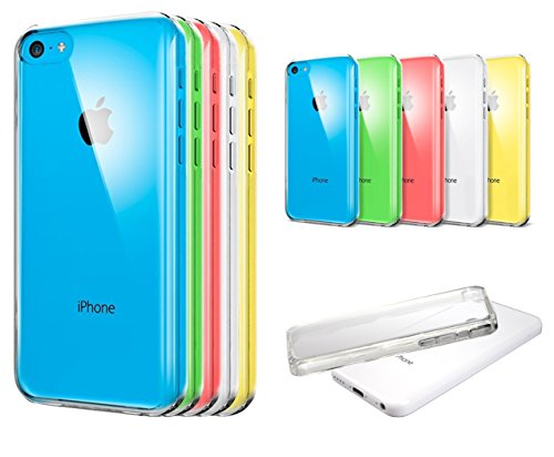 IPhone 5c case: Nue Design(TM) Ultra Thin Crystal Clear Case for iPhone 5c Transparent (Low Profile Iphone 5c Case compare prices)