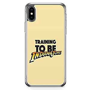 Loud Universe Training iPhone XS Max Case Indiana Jones iPhone XS Max Cover with Transparent Edges