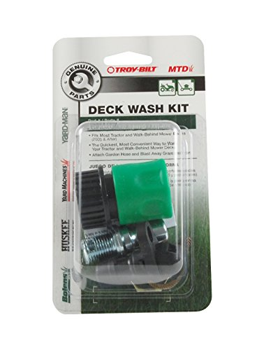 MTD Genuine Parts Deck Wash Kit for Lawn Mowers and Tractors 2005 and After