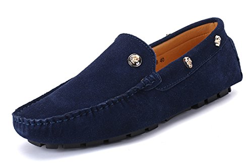 TDA Suede Men's Low-Top Moccasins Suede TDA Penny Loafers Boat Driving Hiking Weekend Shoes B0759YY61C Shoes 0c2233