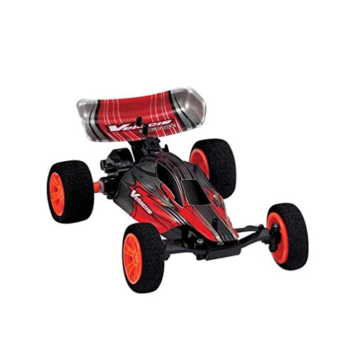 Tiean ZG9115 1:32 Mini 2.4G 4WD High Speed 20KM/h Drift Toy Remote Control RC Car Toys (Red)