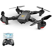 Top Gun Quadcopter RC Drone with HD Camera Wide Angle and Foldable Aerofoils and TOP GUN Sports Cap (DJI MAVIC PRO LOOKALIKE)