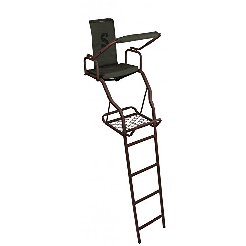 Summit Treestands Summit Solo Deluxe Ladder Stand - Ladder Stand