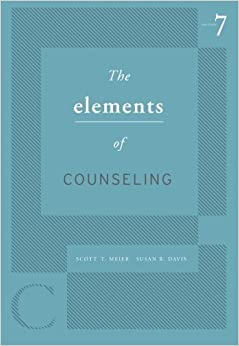 Book The Elements of Counseling (HSE 125 Counseling) by Scott T. Meier (2010-01-01)
