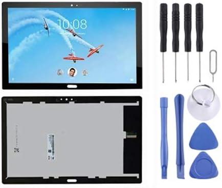 Lenovo Tab P10 / TB-X705 / TB-X705L / TB-X705F / TB-X705N用の新しいLCDスクリーンとデジタイザーフルアセンブリ(ブラック) Yiki (色 : Black)