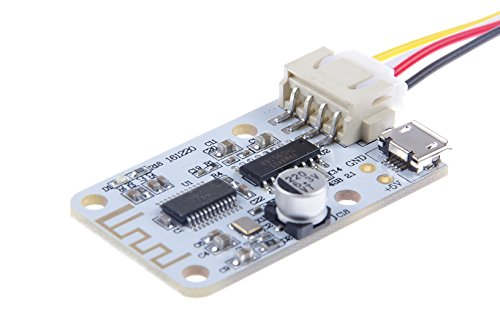 KNACRO 3W+3W Wireless Bluetooth 4.0 Audio Receiver Steady Digital Amplifier Board by KNACRO
