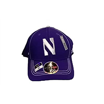 Northwestern Wildcats Adidas Official Sideline Hat S/M