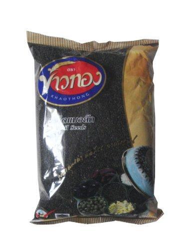 Khaothong Thai Basil Seeds for Healthy Drinking High Fiber No Cholesterol 500 G