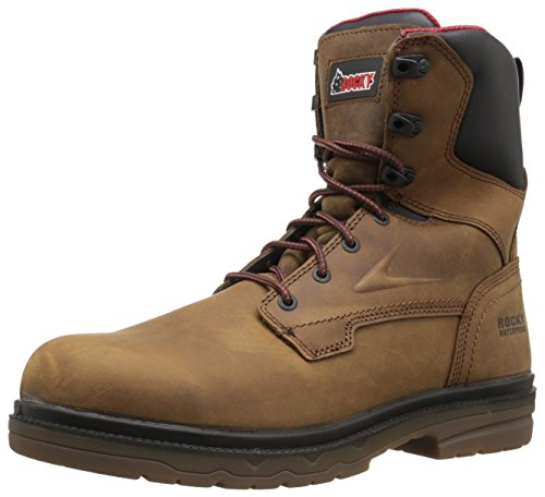 Men's Brown Construction Boot Rocky RKK0161 dxfq1U