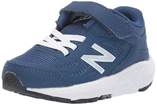 - New Balance Boys' 519v1 Hook and Loop Running Shoe, Moroccan Tile/White, 2 XW US Infant