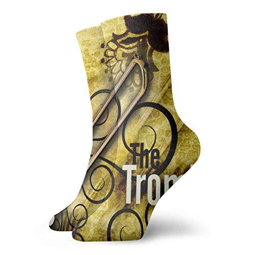 Socks Trombone Women & Men Socks Soccer Sock Sport Tube Stockings Length ()
