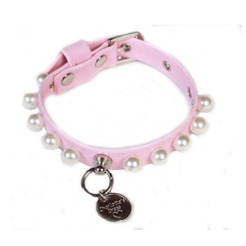 Charlotte's Dress Collar 0.98-Inch 30cm Baby pink