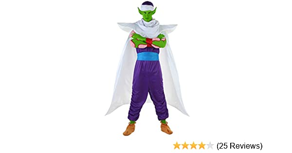 Amazon Com Dragon Ball Z Piccolo Costume Clothing
