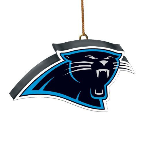 Carolina Panthers 3D Logo Ornament