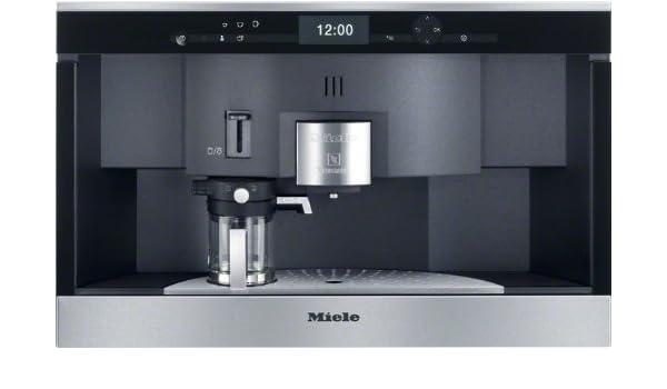 Miele CVA 6431 CleanSteel Integrado Totalmente automática Máquina de café en cápsulas 1.5L Acero inoxidable - Cafetera (Integrado, Máquina de café en ...
