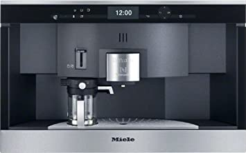 Miele CVA 6431 CleanSteel Integrado Totalmente automática Máquina de café en cápsulas 1.5L Acero inoxidable