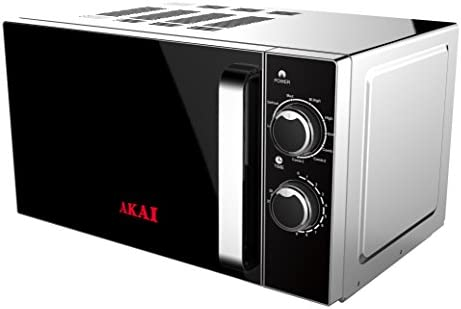 AKAI AKMW201 Microonde Capacità 20 Litri 700 Watt Funzione Grill