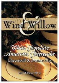 Cheesecake Cheeseball - Wind & Willow White Chocolate Amaretto Cheesecake Cheeseball Mix