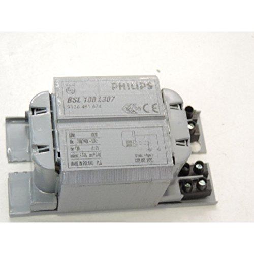 Ballast pour lampe à decharge 100W BSL 100 L307 230/240V 50Hz BC1-118 PHILIPS 915306