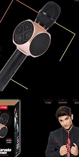 Sonilex wireless mic karaoke with Bluetooth speaker inbuilt bt 204