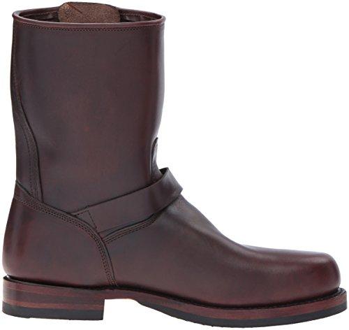 Frye Men's Boot Dark Brown Addison Engineer John w1wTqzf