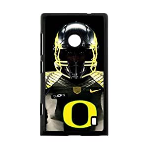 Hoomin Cool NCAA Oregon Ducks Sports Athlete Nokia Lumia 520 Cell Phone Cases Cover Popular Gifts
