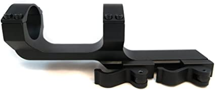 25.4mm//30mm Quick Release Dual Ring Tri-Side Scope Mount Fit 20mm Rail+Wrenches