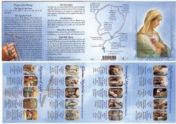 image regarding How to Pray the Rosary Printable Booklet called How towards Say the Rosary Laminated Booklet - For Older people.