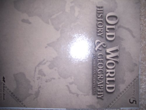 Old World History & Geography In Christian Perspective, for sale  Delivered anywhere in USA