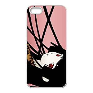 iPhone 5 5s Cell Phone Case White Hell Girl Phone Case Cover Personalized Custom CZOIEQWMXN2564