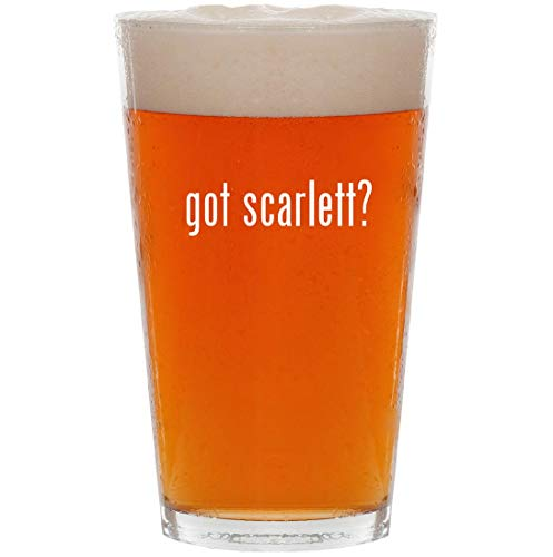 got scarlett? - 16oz Pint Beer Glass