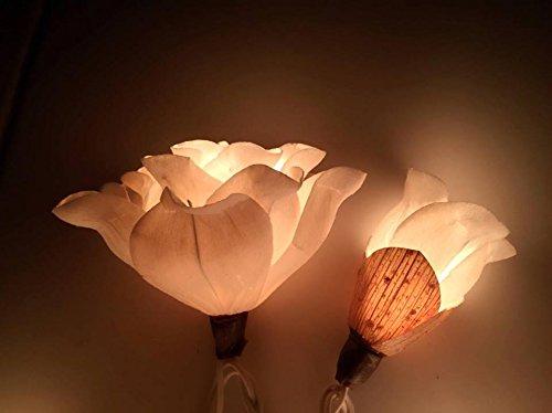Thai Vintage Flower lights Fairy String Lights Wedding Party Decor 3.5m. Handmade 20 lights by Thai Decorated