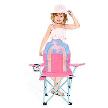 Olyee - Silla Plegable de jardín y Camping para niños, Silla ...