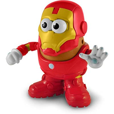 PPW Marvel Comics Iron Man Mr. Potato Head Toy Figure: Ppw Usa: Toys & Games