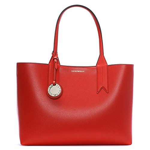 Emporio Armani Logo Shopping Womens Handbag - Armani Bag Shopping
