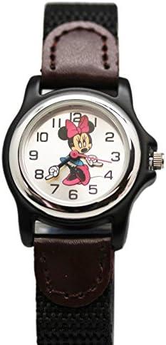 ミニーマウス ディズニー アナログウォッチ アームハンド ポリプロピレンバンド付き (20mm)