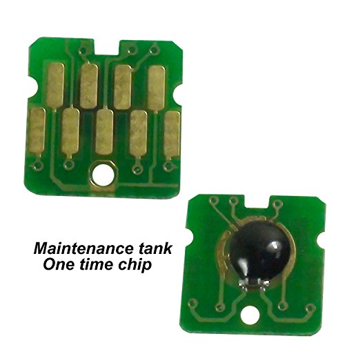 CEYE For Epson One Time Chips T3000 T3200 T3270 T5000 T5200 T5270 T5270D T7000 CT619300 Maintenance Tank Chip One Time Chips T619300 2PC -  promiseink