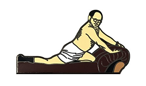 Balanced Co. The Timeless Art of Seduction Enamel Pin George Costanza Pin (Seinfeld Elaine)