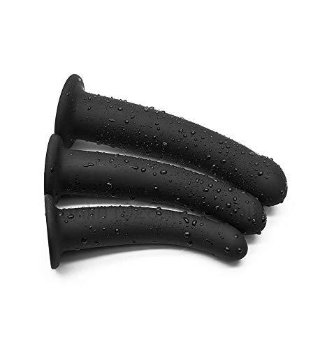 Silicone bouchon /étanche surf accessoires de piscine en silicone de piscine /étanche plong/ée 3pcs A297 noir
