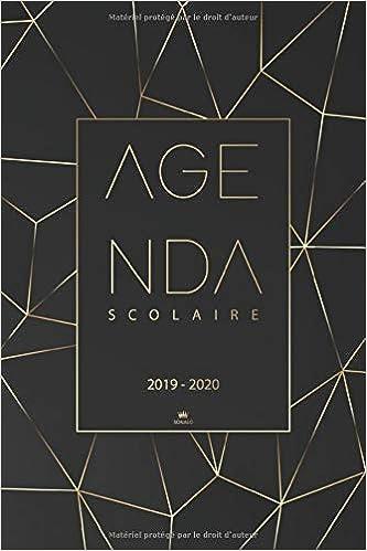 Agenda scolaire 2019 2020: Agenda semainier 2019/2020 pour l ...