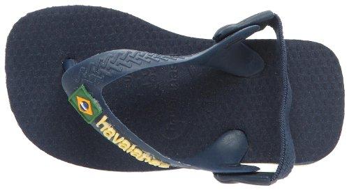 Havaianas Brasil diseño de bebé Navy